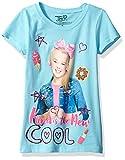 Nickelodeon Little Girls' Jojo Siwa Short Sleeve T-Shirt, Cancun, L-6X