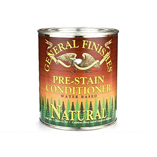 General Finishes WNQT Water Base Wood Stain, 1 quart, Pre...
