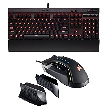 b5dcd8b6910 CORSAIR K70 LUX Mechanical Gaming Keyboard - Backlit Red LED - USB  Passthrough & Media Controls