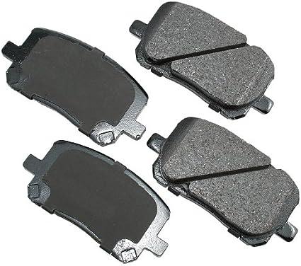 Akebono ACT923 Proact Ultra-Premium Ceramic Brake Pad Set