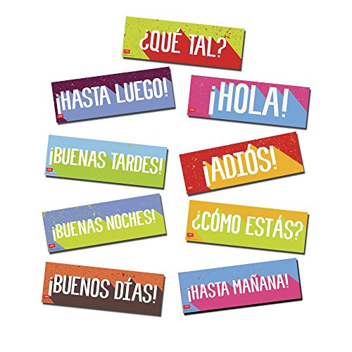 Greetings Spanish Bulletin Board Set