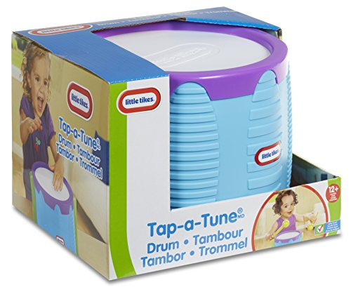 51rVWZOyjrL - Little Tikes Tap-A-Tune Drum Baby Toy