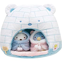 Sumikko Gurashi Plush | Shirokuma & Friends Igloo Plushie 3