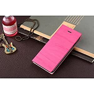 QHY Special Design PU Leather Full Body Case for iPhone 6 Plus(Assorted Colors) , Dark Blue