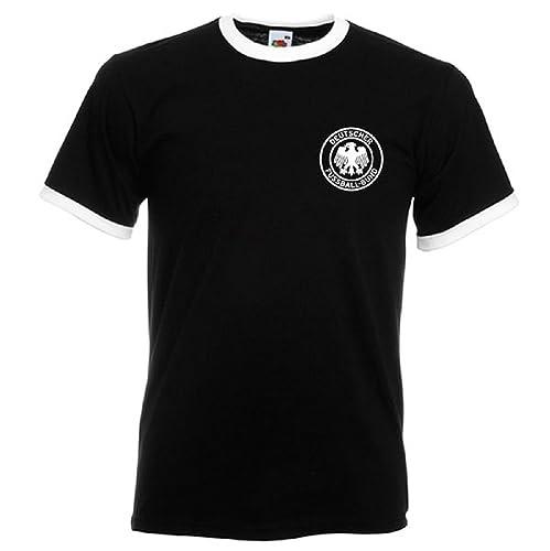 Retro Soccer West German Football TShirt, Soccer, Retro Germany Shirt, World Cup 74