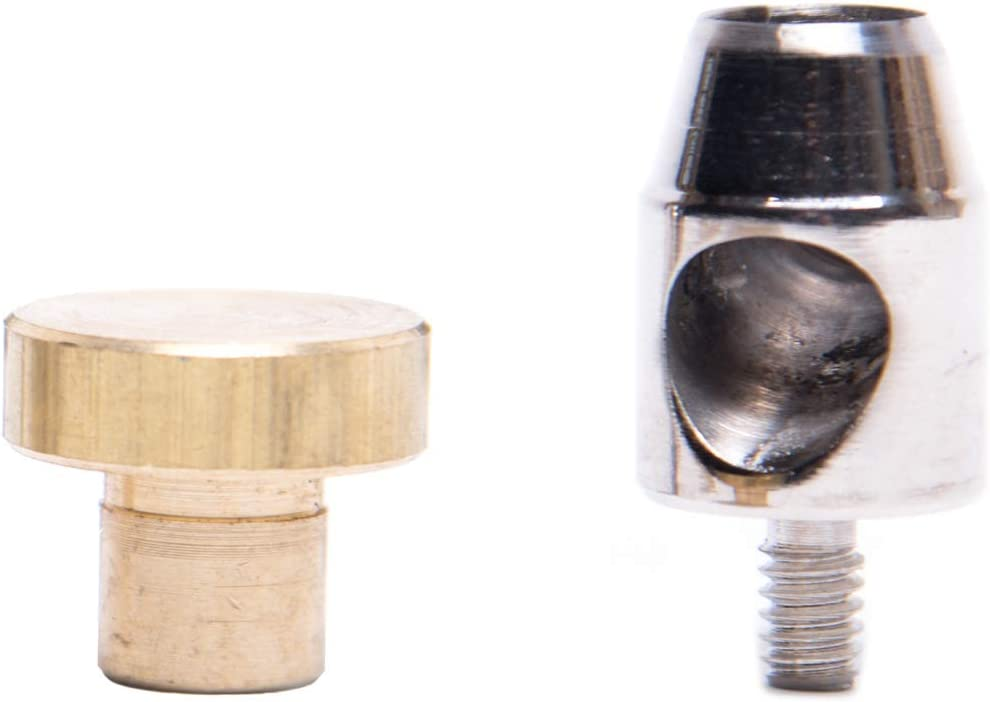 zum stanzen und lochen 6,0 mm GETMORE Parts Lochwerkzeug Lochpfeife f/ür /Ösenpresse Locheisen Spindelpresse