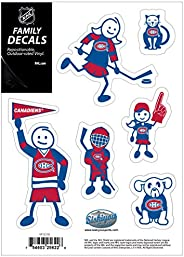 NHL Siskiyou Sports Fan Shop Montreal Canadiens Family Decal Set Small One Size Team Color