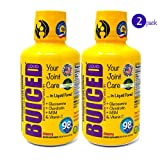 BUICED Liquid Joint Care 2-Pack | Liquid Glucosamine, Chondroitin, MSM & Hyaluronic Acid | Made with 100% Organic Aloe Vera Juice | for Bone and Joint Health, Joint Pain | High 98% Absorption Rate