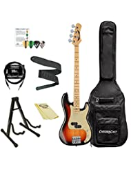 Dean Guitars PARAMOUNT M TSB-KIT-1 4-String Bass Guitar Pack
