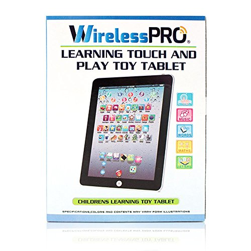 Wireless Pro® Children's Multimedia Learning Toy Tablet  – Pink