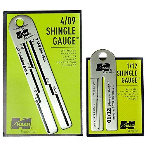 Haag 4 09 And 12 1 Shingle Gauges Buy Usa Quality