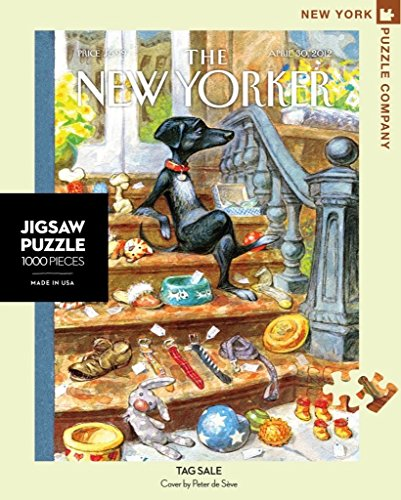 New York Puzzle Company - New Yorker Tag Sale - 1000 Piece Jigsaw Puzzle - New With Tags