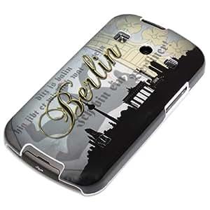 deinPhone Berlin Skyline - Carcasa para Samsung Galaxy Xcover 2, gris