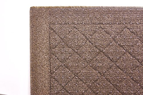 Resilia Premium Heavy Duty Floor Runner/Protector for Carpet Floors – Non-Skid, Clear, Plastic Vinyl, Prism Pattern, 27 Inches x 12 Feet