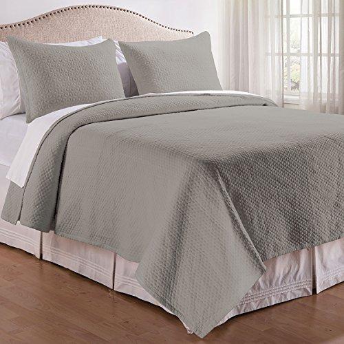 C&F Enterprises 3 or 2-piece Sandstone Color Quilt Set 3 Piece Queen