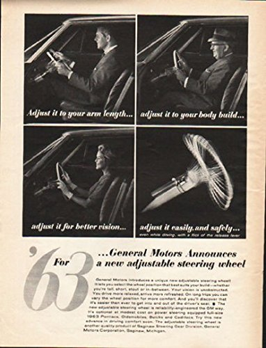 - 1962 General Motors Steering Wheel Ad