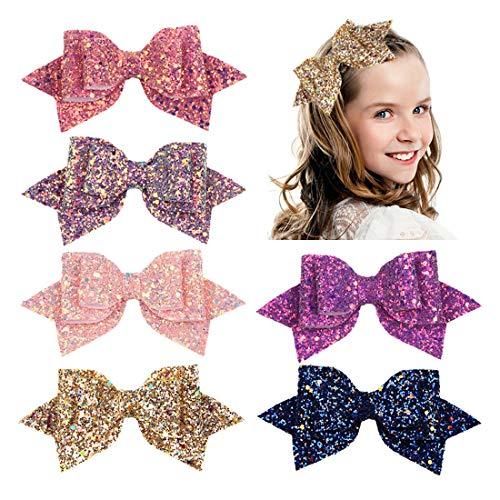 Toddler Girls Hair Bows Clips 5