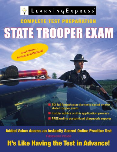 State Trooper Exam (State Trooper Exam (Learning Express))