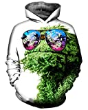 Product review for Chiclook Cool Chic Cool Unisex Hipster Glass Palms Dollar 3D Printed Graphic Hoodie Sweatshirt Coat Hoody