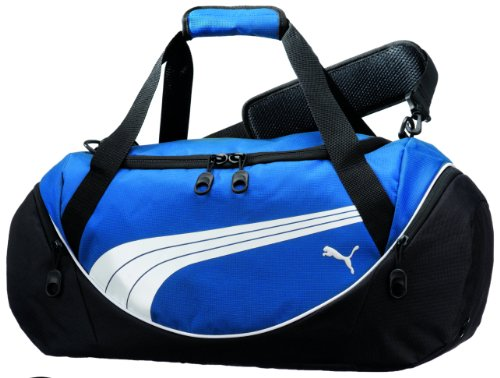 Cheap PUMA Men's Teamsport Formation 24 Inch Duffel Bag, Blue, One Size