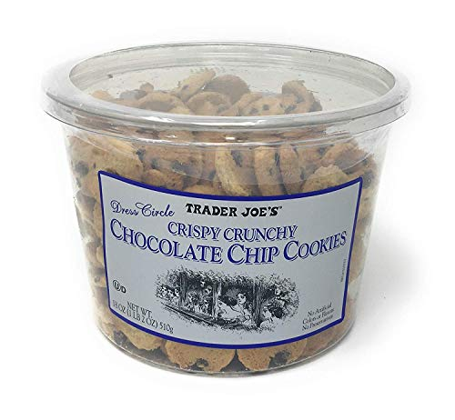 - Trader Joe's Crispy Crunchy Chocolate Chip Cookies 18 Oz