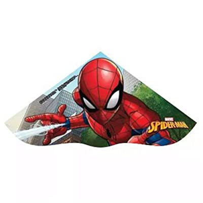 X-Kites Skydelta 42-inches Poly Delta Kite: Marvel Ultimate Spiderman (2020): Toys & Games