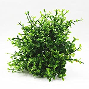 FYYDNZA 1 Pc Artificial Mini Eucalyptus Grass Green Plant Home Table Decoration 109