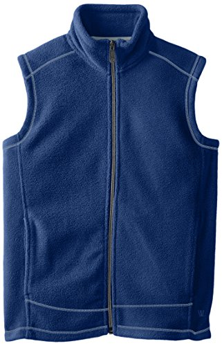 White Sierra Youth Mountain Vest, Shield Blue, Small