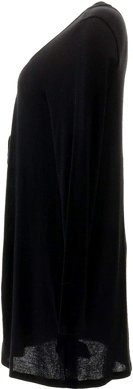 AnyBody Loungewear Hacci Tie Front Cardigan Black L NEW A349788