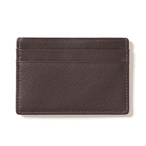 Slim Case Slim Brown Card Card Chocolate 5Rxqw01qz