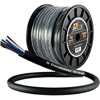 DB Link STMC918G100 18-Gauge 9-Multiconductor Speaker Wire with Remote Trigger, 100ft