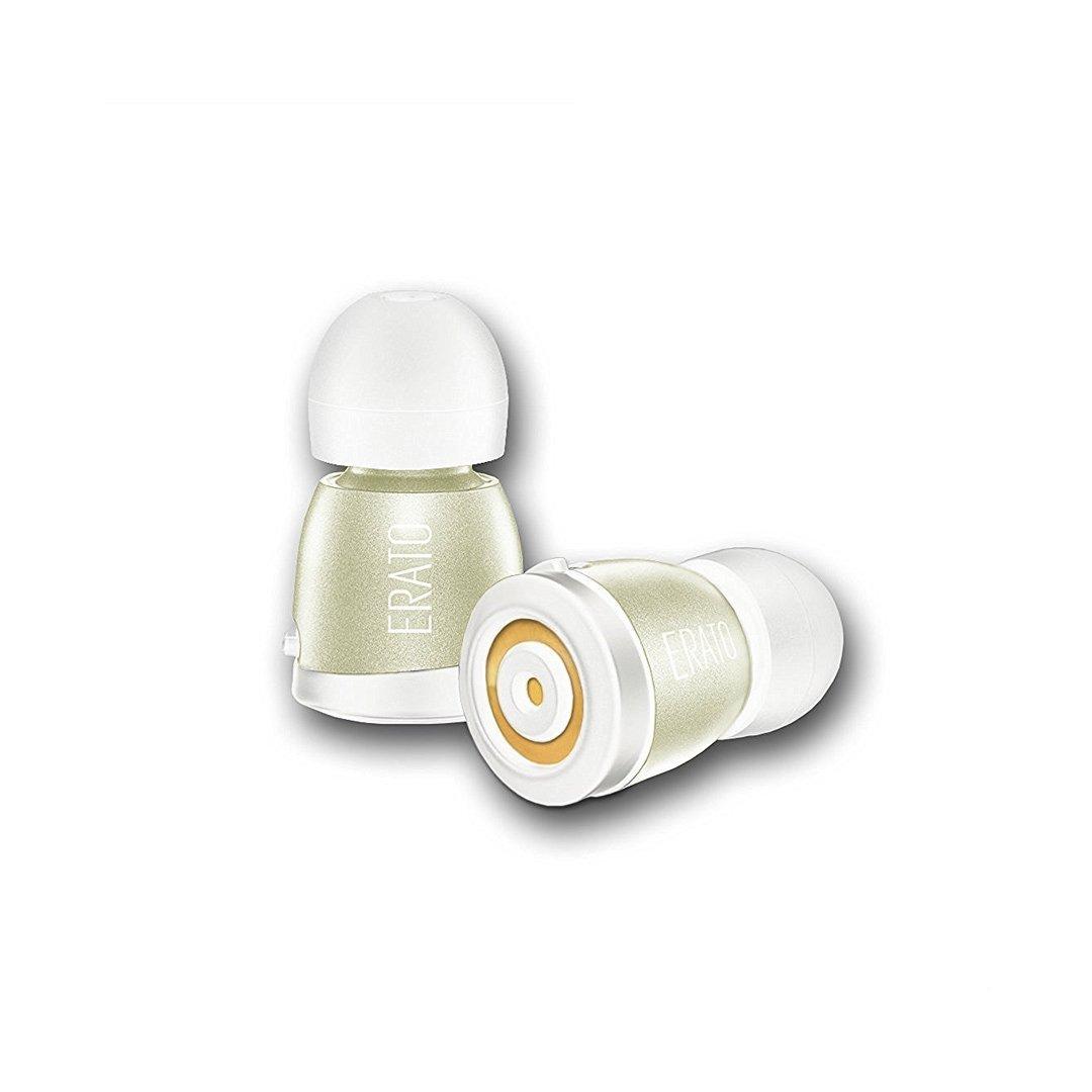 (エラートオーディオ) Erato Audio Apollo 7 トゥルーワイヤレスBluetoothイヤホン 充電ケース付き イエロー AP07 B01M8EYMOT ゴールド/ホワイト