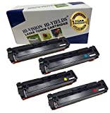 HI-VISION HI-YIELDS Compatible Toner Cartridge Replacement for HP CF410A ( Black,Cyan,Magenta,Yellow , 4-Pack )