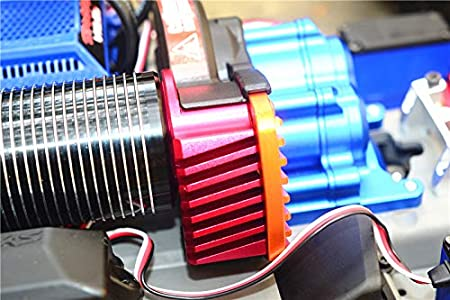 Alu Motor Mount with Heat Sink Fins 86086-4 Traxxas E-Revo VXL 2.0 Brushless