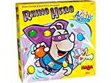 HABA Rhino Hero Active Kids - A Heroic Get up and Move Game for Children Ages 5+ (Made in Germany)