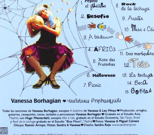 Borhagian Vanessa, Vanessa Borhagian - Telarana: Canciones Para Mejorar El Mundo - Amazon.com Music