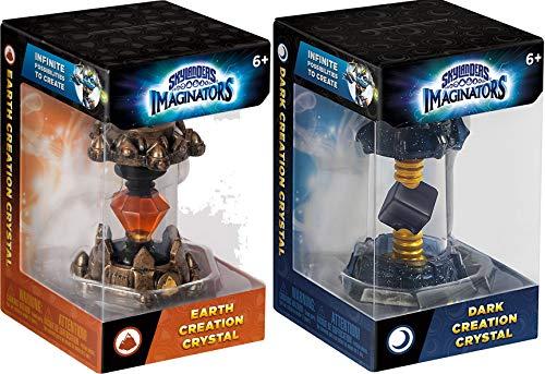 nders Imaginators Creation Crystal 2-Piece Bundle - Earth Rocket and Dark Lantern Set ()