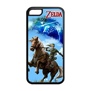 The Legend Of Zelda Game Durable TPU Protective Case For iphone 5c (Black, White) Kimberly Kurzendoerfer