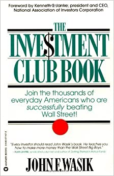 Book The Investment Club Book November 1, 1995