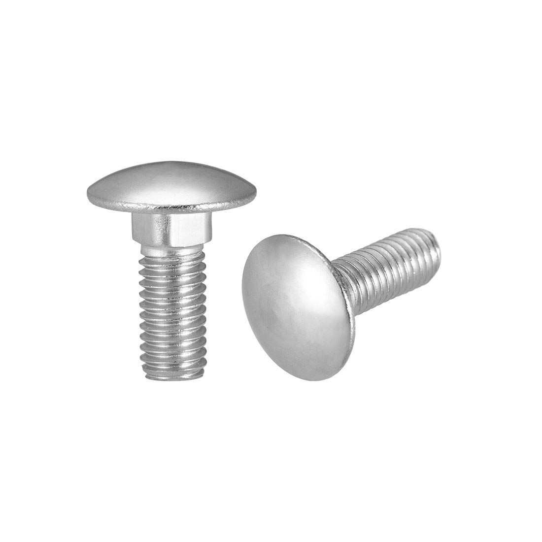 1//4-20 Thread Size Small Parts FSC14150CB5Z Round Grade 5 Square-Neck Carriage Bolt Zinc Plated Hex Pack of 50 1-1//2 Long Steel