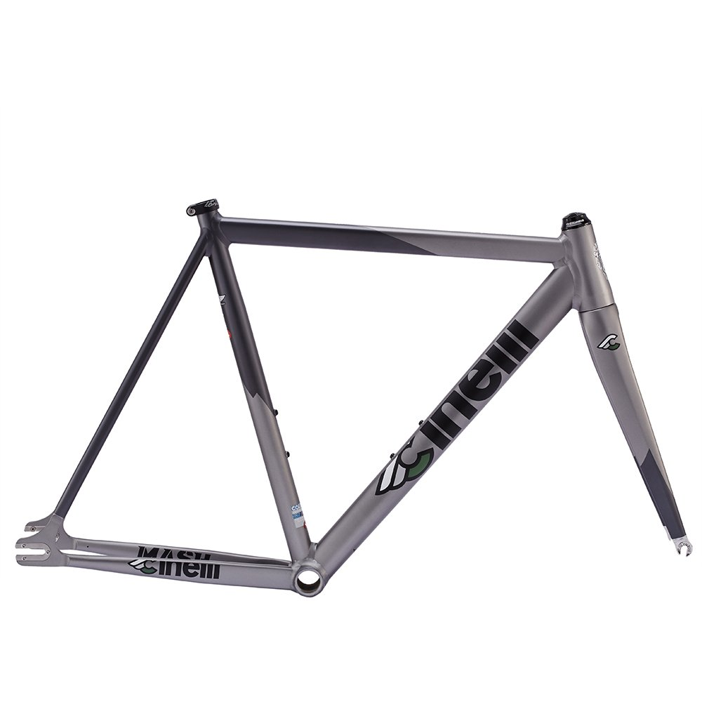 チネリマッシュボルト2.0自転車フレームセット – グレーXS B06XCSGF8G   SML