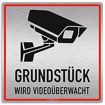 Cartel Videovigilancia, motivo pieza se vídeo mediante wacht ...