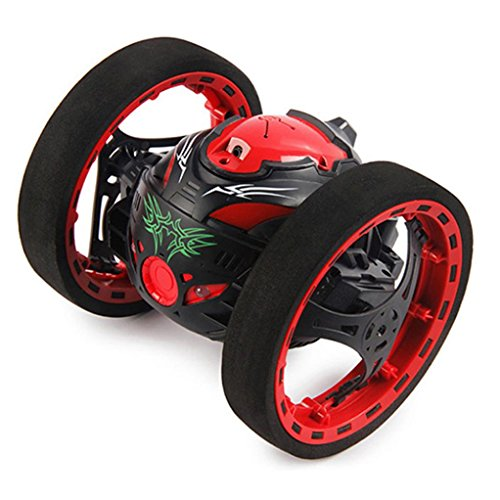 Price comparison product image Hot sale! RC Toy, Remote Control Car,SJ88 2.4GHz RC Bounce Car Shock Resistance Flexible Wheels Speed Switch by Sunfei (Black)