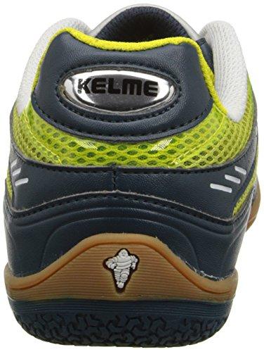 Kelme Star 360 Mens Michelin Pelle Mesh Inserto Scarpe Da Calcio Lime-navy Lima Y Marino 614