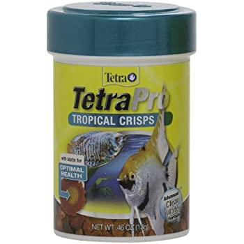 Amazon.com : Tetra 77070 TetraPRO Tropical Crisps for Fishes, 85ml : Pet Supplies