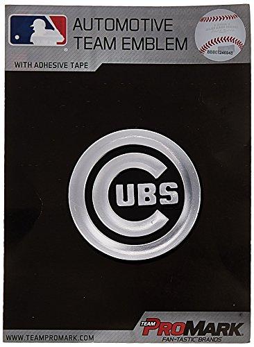 MLB Chicago Cubs Chrome Automobile Emblem