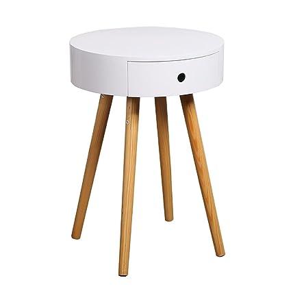 JUEJIDP Mesita de Noche pequeño Mueble Nordic Mini Mesa de ...