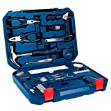 NEW Bosch All-in-One Metal 108 Piece Hand Tool Kit Screw Bits Hammer Wrench, etc