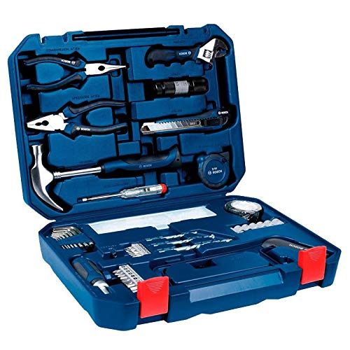 (NEW Bosch All-in-One Metal 108 Piece Hand Tool Kit Screw Bits Hammer Wrench, etc)