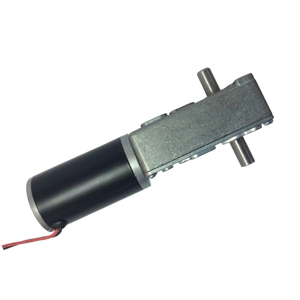 BEMONOC Electric Double Shaft Dc Gear Motor 12v Low Speed 3